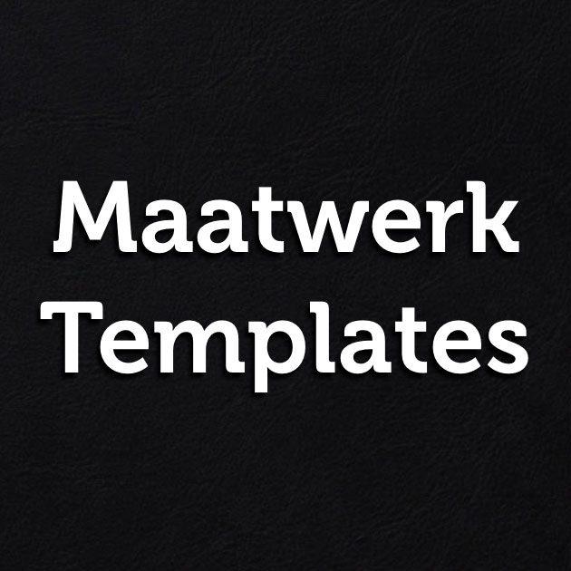Maatwerk templates